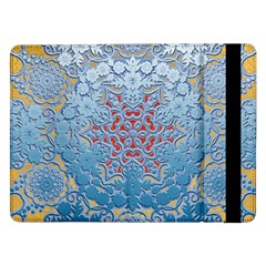Pattern Background Pattern Tile Samsung Galaxy Tab Pro 12 2  Flip Case