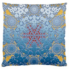 Pattern Background Pattern Tile Large Flano Cushion Case (two Sides)
