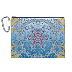 Pattern Background Pattern Tile Canvas Cosmetic Bag (xl)