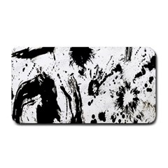 Pattern Color Painting Dab Black Medium Bar Mats