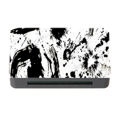 Pattern Color Painting Dab Black Memory Card Reader With Cf