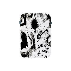 Pattern Color Painting Dab Black Apple Ipad Mini Protective Soft Cases