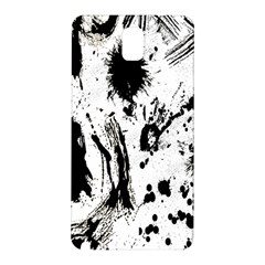 Pattern Color Painting Dab Black Samsung Galaxy Note 3 N9005 Hardshell Back Case