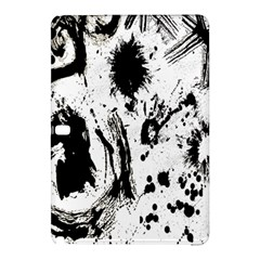 Pattern Color Painting Dab Black Samsung Galaxy Tab Pro 10 1 Hardshell Case