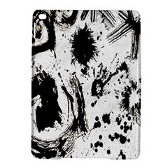 Pattern Color Painting Dab Black Ipad Air 2 Hardshell Cases