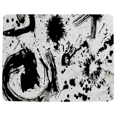 Pattern Color Painting Dab Black Jigsaw Puzzle Photo Stand (Rectangular)
