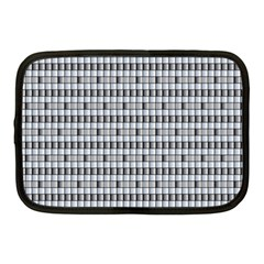 Pattern Grid Squares Texture Netbook Case (Medium)