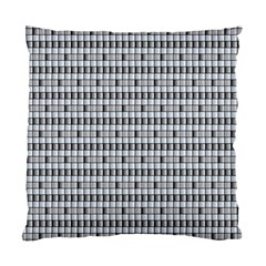 Pattern Grid Squares Texture Standard Cushion Case (one Side)