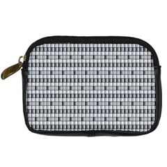 Pattern Grid Squares Texture Digital Camera Cases