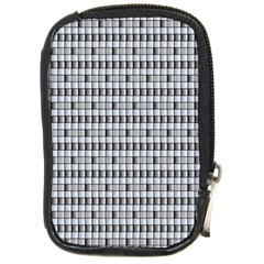 Pattern Grid Squares Texture Compact Camera Cases