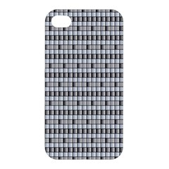 Pattern Grid Squares Texture Apple iPhone 4/4S Hardshell Case