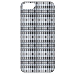Pattern Grid Squares Texture Apple iPhone 5 Classic Hardshell Case