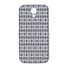 Pattern Grid Squares Texture Samsung Galaxy S4 I9500/i9505  Hardshell Back Case
