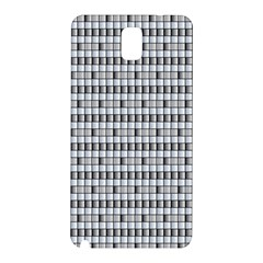 Pattern Grid Squares Texture Samsung Galaxy Note 3 N9005 Hardshell Back Case