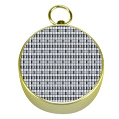 Pattern Grid Squares Texture Gold Compasses