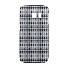 Pattern Grid Squares Texture Galaxy S6 Edge