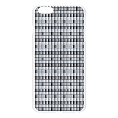 Pattern Grid Squares Texture Apple Seamless iPhone 6 Plus/6S Plus Case (Transparent)