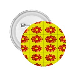Pattern Design Graphics Colorful 2.25  Buttons