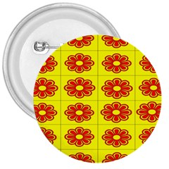 Pattern Design Graphics Colorful 3  Buttons