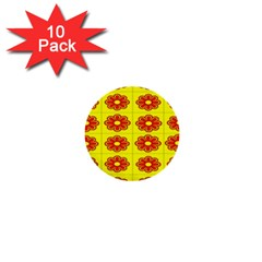 Pattern Design Graphics Colorful 1  Mini Buttons (10 pack)