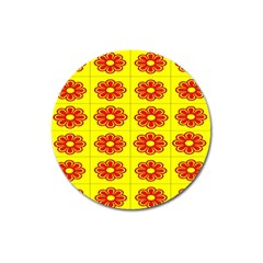Pattern Design Graphics Colorful Magnet 3  (Round)