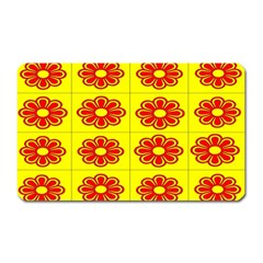 Pattern Design Graphics Colorful Magnet (Rectangular)
