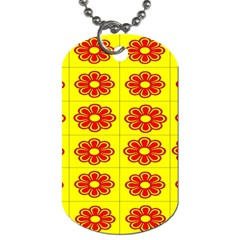 Pattern Design Graphics Colorful Dog Tag (One Side)