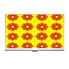 Pattern Design Graphics Colorful Business Card Holders