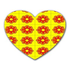 Pattern Design Graphics Colorful Heart Mousepads