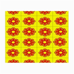 Pattern Design Graphics Colorful Small Glasses Cloth (2 Side)