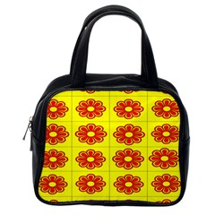 Pattern Design Graphics Colorful Classic Handbags (One Side)