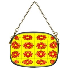Pattern Design Graphics Colorful Chain Purses (One Side)