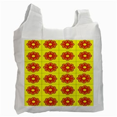 Pattern Design Graphics Colorful Recycle Bag (Two Side)