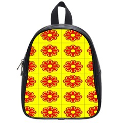 Pattern Design Graphics Colorful School Bags (Small)