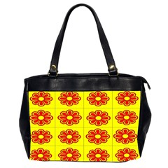 Pattern Design Graphics Colorful Office Handbags (2 Sides)