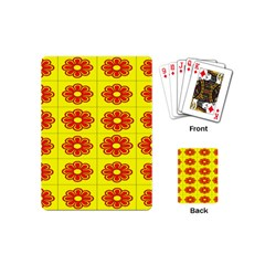 Pattern Design Graphics Colorful Playing Cards (mini)