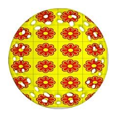 Pattern Design Graphics Colorful Ornament (Round Filigree)
