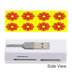 Pattern Design Graphics Colorful Memory Card Reader (stick)