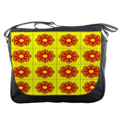 Pattern Design Graphics Colorful Messenger Bags
