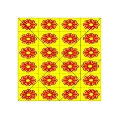Pattern Design Graphics Colorful Acrylic Tangram Puzzle (4  x 4 )