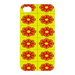 Pattern Design Graphics Colorful Apple iPhone 4/4S Premium Hardshell Case