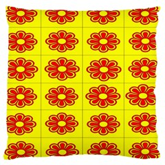 Pattern Design Graphics Colorful Large Cushion Case (two Sides)