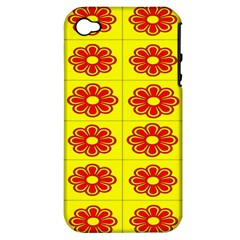 Pattern Design Graphics Colorful Apple iPhone 4/4S Hardshell Case (PC+Silicone)