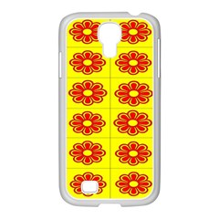 Pattern Design Graphics Colorful Samsung Galaxy S4 I9500/ I9505 Case (white)