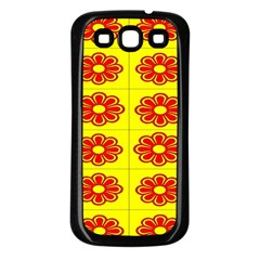 Pattern Design Graphics Colorful Samsung Galaxy S3 Back Case (black)