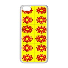 Pattern Design Graphics Colorful Apple iPhone 5C Seamless Case (White)
