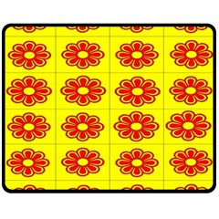 Pattern Design Graphics Colorful Double Sided Fleece Blanket (medium)