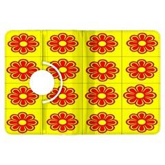 Pattern Design Graphics Colorful Kindle Fire Hdx Flip 360 Case