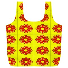 Pattern Design Graphics Colorful Full Print Recycle Bags (l)