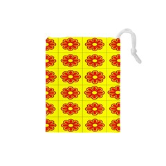 Pattern Design Graphics Colorful Drawstring Pouches (small)